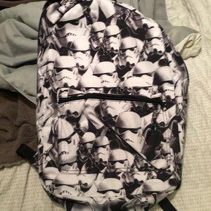 Stormtrooper Backpack NWOT
